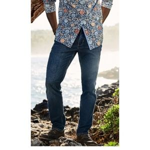 Tommy Bahama mens blue Jeans W 37 🌴 or XL